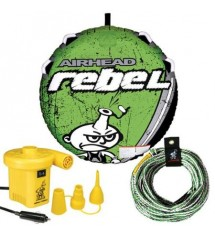 Airhead Towable  Rebel Tube Kit incl. Tow Rope and 12 Volt Pump