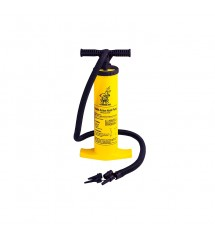 Airhead Hand Pump  for inflating and deflating including 4 universal valves