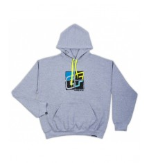 Crazy Fly HOODIE grey