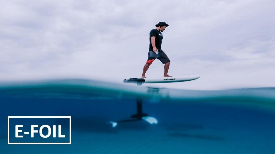 elektryczna deska surfingowa foil